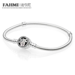 925 sterling silver component online shopping - New Spring Flower Clip Sterling Silver For Clasp Style Charm Fit Women European Bracelet DIY Jewelry Component