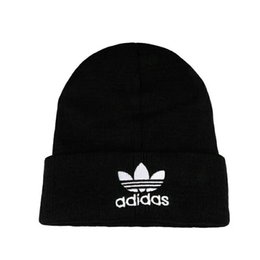 Cashmere Beanies UK - Autumn and winter hat men hats knit wool cap plus velvet man and Winter Hats Sports Outdoor Brand Knitted Wool Hip-Hop Hats For M