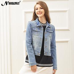 a5b0f9bbe73 S - 5XL plus size denim jacket women autumn casual jeans coats short korean  vintage ladies female clothing oversized outerwear