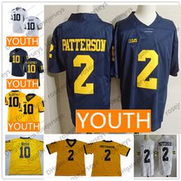 c3d6e8e2f ... college football jersey 20f2f 057fd; usa youth michigan wolverines 10  tom brady devin bush mccaffrey 2 shea patterson charles woodson white
