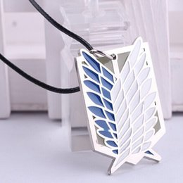 Kyojin cosplay online shopping - Anime Attack On Titan Necklace hingeki No Kyojin Cosplay Statement Necklaces For Men Jewelry
