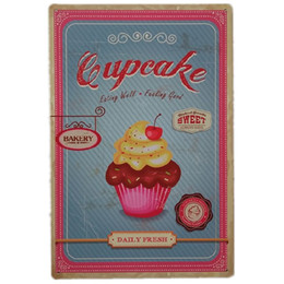 $enCountryForm.capitalKeyWord NZ - Daily Fresh Cupcake Bakery Retrol tin sign Metal plates Gift PUB Wall art Painting Poster Bar home Restaurant Decor