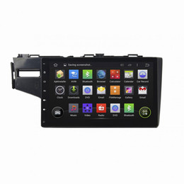 Radio honda fit online shopping - Car DVD player for Honda Fit inch GB RAM Andriod with GPS Steering Wheel Control Bluetooth