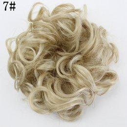 80pcs / lot Nuovo arrivo Hotsale stile libero bigodino di capelli soffio gemma elastico Hairbands cravatte / accessori per capelli donne in Offerta