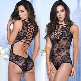 Sexy Lingerie Sous-vêtements En Gros Hot Perspective Dentelle Peignoirs Erotique Sous-Vêtements Évider Porn Sexy Costumes Pour femmes Livraison gratuite