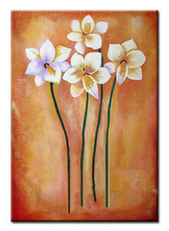 $enCountryForm.capitalKeyWord Australia - Big size knife Abstract flower Oil Painting on Canvas handmade oil painting Wall Art Picture for Living Room bedroom Home Decor