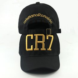 13031b6b689 Fashion Cristiano Ronaldo CR7 Baseball Caps hip hop cap Sports Snapback hats  Football hat casual cap outdoor curved hat