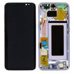 Samsung Galaxy Lcd Repair NZ - NEW Mobile Phone Lcds Assembly Repair Lens Touch Digitizer Screen Replacement Parts with frame for Samsung Galaxy s8