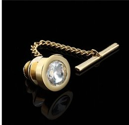 $enCountryForm.capitalKeyWord Canada - HAWSON Free Shipping Gold-Color Tie Tack Mens Shirt Jewelry Fashion Tie Pin