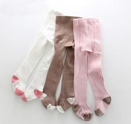 b498c15f5 Kids pantyhose baby girls vertical stripe leggings kids cotton soft tights  2018 spring new girls princess legs children cotton bottoms R2541
