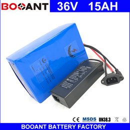 Motor Bicycles Australia - BOOANT Free Shipping Electric Bicycle Battery pack 36V 850W EU US Free Customs 36V 15AH E-Bike Battery For Bafang 850W Motor