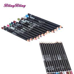$enCountryForm.capitalKeyWord NZ - 12 Colors Eye Shadow Make Up Eyeliner Pencil Waterproof Eyebrow Beauty Pen Eye Liner Lip sticks Cosmetics Eyes Makeup Tools