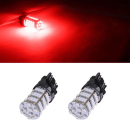 3157 tail bulb Canada - 4X 3157 57SMD RED 3528 LED TURN SIGNAL BREAK STOP 12V TAIL LIGHT BULB Switchback