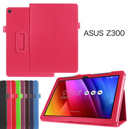 asus fonepad tablet NZ - Flip Cover Leather Case for Asus Zenpad 10 Z300 Z300C Z300CL Z300CG Z300M Z301 Z301ML 10inch Tablet+Stylus