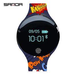 $enCountryForm.capitalKeyWord Canada - SANDA Sport Smart Watch Pedometer IP65 Waterproof Fitness Tracker Call Reminder Sport Bracelet Smartwatch Connect Android IOS
