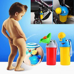 Wholesale New Children Boy Potty Urinal Boys Travel Camping Train Outdoors Potty Pee Standing PottiesToilet