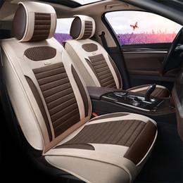 Wholesale New Luxury Quality PU Leather Auto Car Seat Covers Automobiles For Hyundai Solaris Ix35 I30 Ix25 Elantra Accent