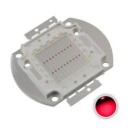 $enCountryForm.capitalKeyWord Australia - High Power Led Chip 20W Red Super Bright Intensity SMD COB Light Emitter Components Diode 20 W Bulb Lamp Beads DIY Lighting