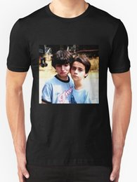 Jack Gifts Australia - Custom T Shirt Design Gift O-Neck Short-Sleeve Mens High Quality Customized New Finn Wolfhard & Jack Shirts