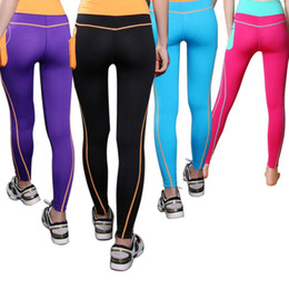 d7dadfb4cdef5 New Woman Fitness Leggings High Elastic Shine Leggins Workout Slim Fit Women  Pants Black Trousers Leggings