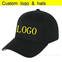 custom kids hats Canada - Factory Directly Custom Adult&Kids Trucker Cap Curved Peak Active Sun Snapback Custom LOGO letter Hats 3D embroidery Baseball hat Adjust