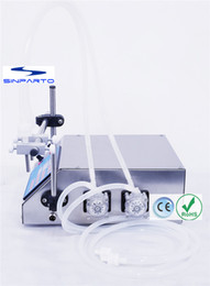 online shopping Sinparto peristaltic pump filling machine ml min with heads liquid filler for solvents perfumes e cigarette oil filling machine