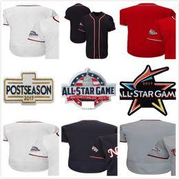Discount games xxl - 2018 All-Star Game Custom Baseball Jersey Washionton Red Black White Grey any name&no. Male Lady Kids Cool Flex Baseball