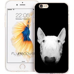 Iphone 5s Dog Cases NZ - Coque Bull Terrier Dog Clear Soft TPU Silicone Phone Cover for iPhone X 7 8 Plus 5S 5 SE 6 6S Plus 5C 4S 4 iPod Touch 6 5 Cases.