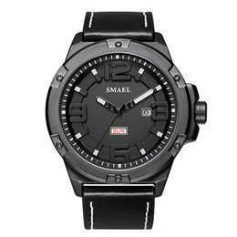 $enCountryForm.capitalKeyWord Australia - Waterproof Calendar Quartz Wristwatches SMAEL Watch Men Big Dial relogio Man Watches Digital 1313 Sport Digital Watches Bracelet