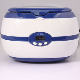 digital ultrasonic cleaning machine Canada - 35W Nail tool Digital LED Ultrasonic Washing Machine Ultrasonic Cleaner 220V Bath Cleaner Cleaning Machine