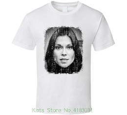 261454e39b5 Kate Jackson 70s Celebrity Icon Sexy Vintage Worn Look T Shirt Printed T  Shirt Summer Men s