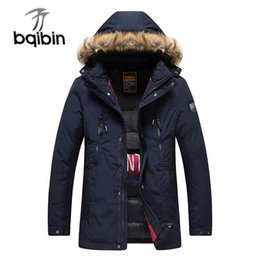 $enCountryForm.capitalKeyWord NZ - 2018 Winter Jacket Men'S Casual Medium Length Thicken Down Jacket Men'S Youth Lapel Hooded Panel Cotton Coat