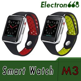 $enCountryForm.capitalKeyWord NZ - M3 Smart Wrist Watch Smartwatch with MTK6261A CPU 1.54 inch LCD OGS capacitive Touch Screen SIM Card Slot Camera for apple PK DZ09 Watch 50X