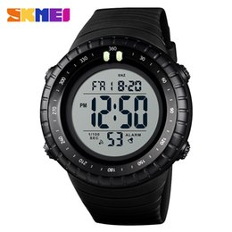 Wholesale SKMEI Men Sports Watch LED Digital Waterproof Wristwatchh Alarm Outdoor Dual Time Watches sport swimming Relogio Masculino Clock