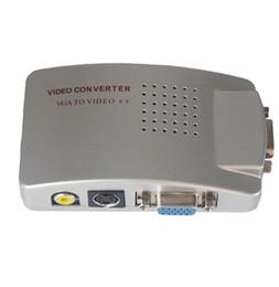 $enCountryForm.capitalKeyWord UK - 2018 New PC Laptop VGA to AV RCA TV Monitor S-video Signal Adapter Converter Switch Box jn5