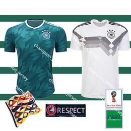 a48a65fbf Thailand 2018 World Cup Germany Home away Soccer Jerseys MULLER soccer  shirt Draxler GOTZE OZIL KROOS BOATEN GUNDOGAN Football Shirts