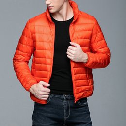 Discount young clothes - MRMT 2018 Brand Autumn Winter New Men's Jackets Light Down Short Collar Young for Male Light Down Feather Coat Clot