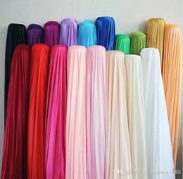 Fabric Decorations Backdrop Australia - Silk fabric wedding backdrop Width 150CM 59inch Satin Fabric Decoration Solid Color Cloth Performance Clothing Fabrics Clothing Lining GLO