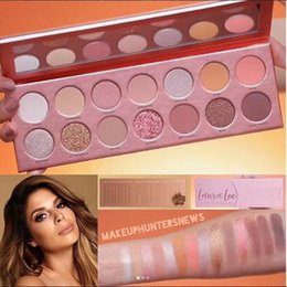 $enCountryForm.capitalKeyWord Canada - New MAKRUP LauraLee 14colors Eye shadow Palette Matte Shimmer NUDIE eyeshadow palette High quality DHL shipping