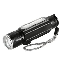 $enCountryForm.capitalKeyWord Australia - Y5435 USB 180LM Flashlight with Magnet Handy LED Flashlight Rechargeable Torch Flash Light Pocket LED Zoom