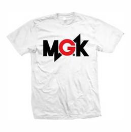 Men S T Shirt Factory NZ - Mgk Machine Gun Kelly Mgk Logo T Shirt S-M-L-Xl-2Xl Brand New Official T Shirt Men Boy Factory Wholesale Short Sleeve Fashion Custom XXXL Me