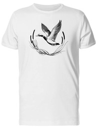 Men S Clothes Images NZ - Cool Duck Flying Sketch Men's Tee -Image by Shutterstock Men Clothing Plus Size S M L Xl Xxl Base Shirt
