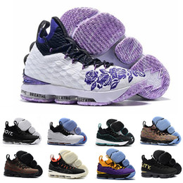 finest selection 06fda f853d High Quality lebrons Ashes Ghost lebron 15 Basketball Shoes shoes Arrival  Sneakers james 15s Mens Casual Shoes 15 40-46