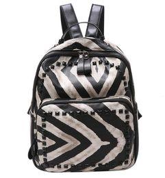 $enCountryForm.capitalKeyWord NZ - stripped new backpack sexy women zebra stripped printed special designer girl bag rucksack