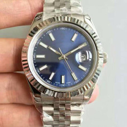 Best silver watches online shopping - 2018 Best selling kinds of luxury watch roles High quality AAA Sapphire original strap automatic movement MM dial just Oyster watch