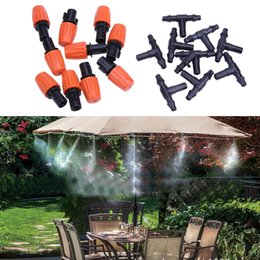 $enCountryForm.capitalKeyWord NZ - 5M 10Pcs Atomizing Sprinkler Nozzles Automatic Sprayers Irrigation Watering Kit for Garden Plants Lawn Watering Kits
