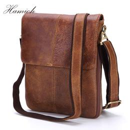 Hamich 2018 New Men S Cow Leather Pattern Flap Shoulder Bags For Men  Messenger Bag Business Crossbody Bag Bolsa Feminina 7c716ad9cd990