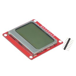 $enCountryForm.capitalKeyWord NZ - 1pcs White Backlight 84*48 84x84 LCD Display Module Adapter PCB for Nokia 5110 for arduino DIY KIT