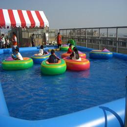 aufblasbarer Pool großer Innengebrauch des Swimmingpools im Freien Wasserparkschwimmen im Heißwasserspielzeugsommergebrauch durch das Geschäftseinkommen beträchtlich im Angebot