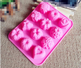 $enCountryForm.capitalKeyWord Australia - Flower shape Muffin case Candy Jelly Ice cake Silicone Mould Mold Baking Pan Tray Silicone Muffin Cases Cake Cupcake Nonstick Liner Baking